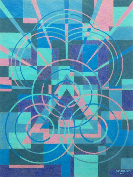 Emil Bisttram, 'Untitled Abstraction', 1940