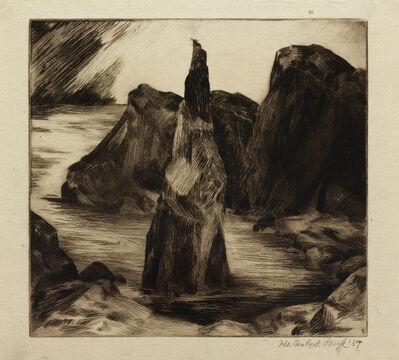 Ida O'Keeffe, 'The Oregon Coast', ca. 1937