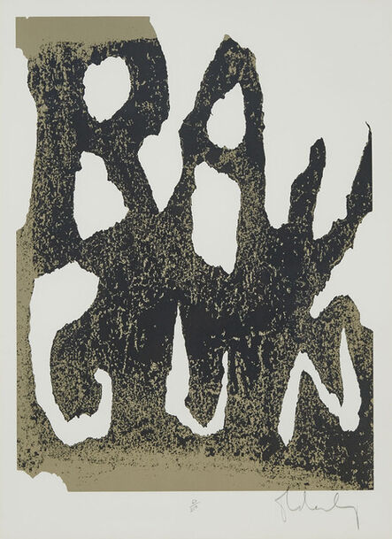 Claes Oldenburg, 'Thure Ray Gun', 1961