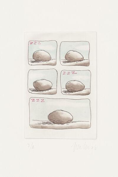 Waltercio Caldas, 'A estoria da pedra /The story of the rock', 1996