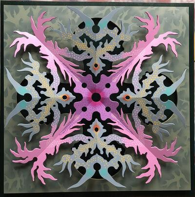Chris R. Davis, 'Snowflake Design', 2018