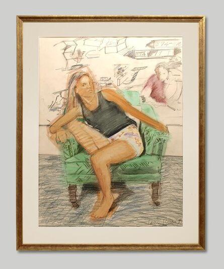 Larry Rivers, 'Be Seated: Gwynne I', 1988