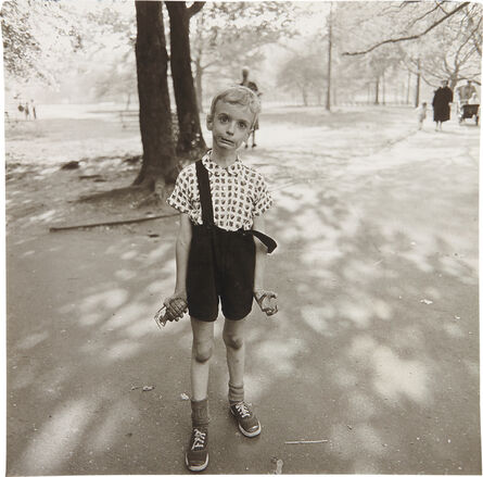 Diane Arbus, 'Child with a toy hand grenade in Central Park, N.Y.C.', 1962