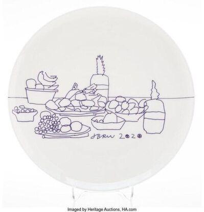 Jonas Wood, 'Fruit Plate', 2020