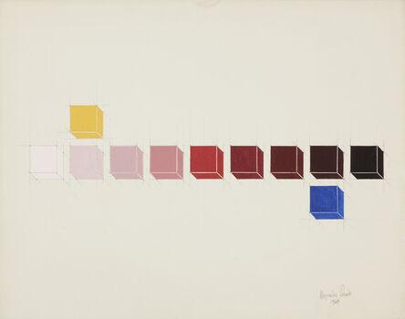 Alejandro Puente, 'Sistema Cromático - Primarios -', 1968