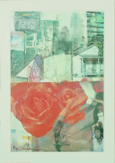 Robert Rauschenberg, 'Domicile', 1996