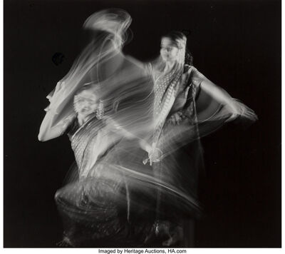 Herbert Matter, 'Study in Motion, Indian Dancer, Pravina Vashi', circa 1940-printed later