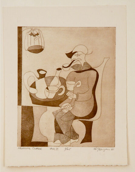Hartwell Yeargans, 'Morning Coffee, Variation I', 1981