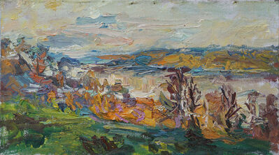 Ulrich Gleiter, 'The Volga River in October', 2017
