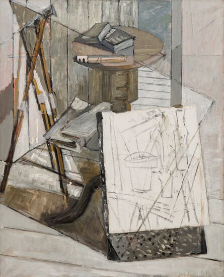 Marguerite Louppe, 'Studio Still Life with Sketch', ca. 1960