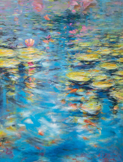 Paul Battams, 'Fish in the Lilypond', 2020