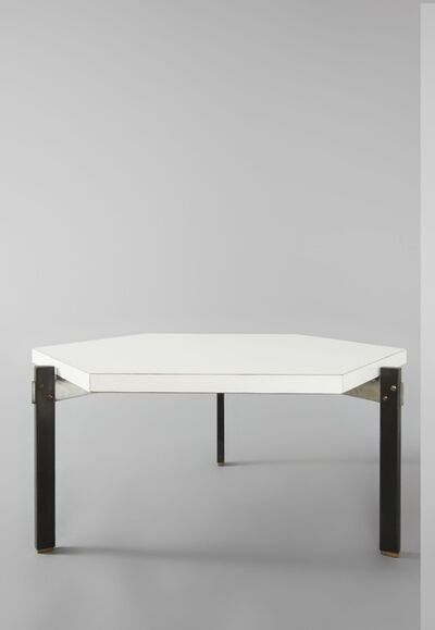 André Simard, 'Pair of hexagonal low tables', 1959