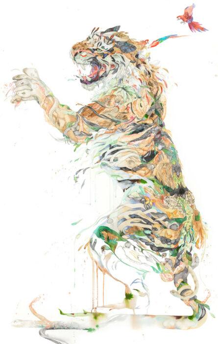 Laura Ball, 'Sumatran Tiger Creature - Standing', 2019