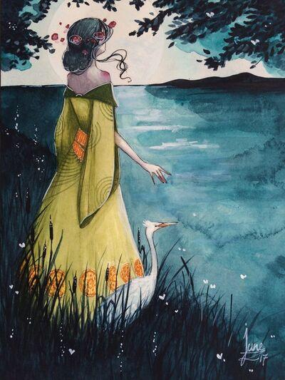 June Leeloo, 'The Kelpie on The Riverside'