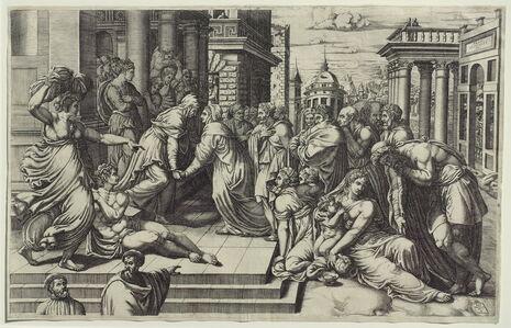 Giorgio Ghisi, 'The Visitation', ca. 1540
