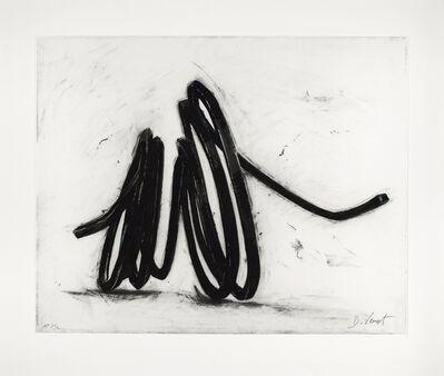 Bernar Venet, 'Indeterminate Line', 2016