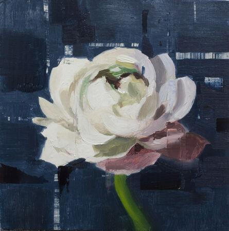 Jon Doran, 'White Ranunculus', 2018