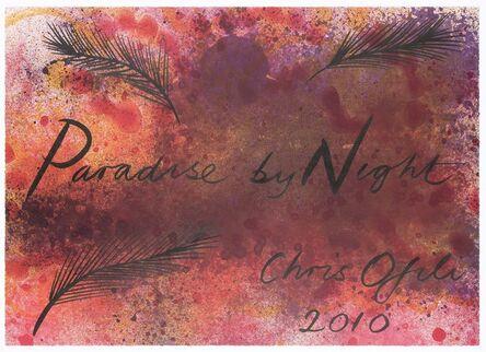 Chris Ofili, 'Paradise by Night', 2010