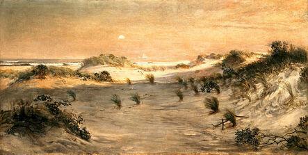 Henry Ossawa Tanner, 'Sand Dunes at Sunset, Atlantic City', ca. 1885