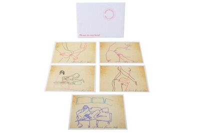 Tracey Emin, 'The Sex Series (the complete set of 5)', 2013