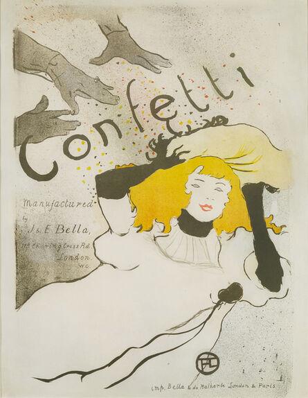 Henri de Toulouse-Lautrec, 'Confetti', 1894