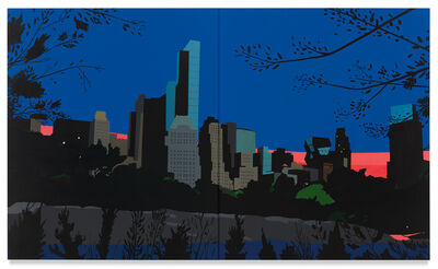Brian Alfred, 'Central Park at Dusk', 2019
