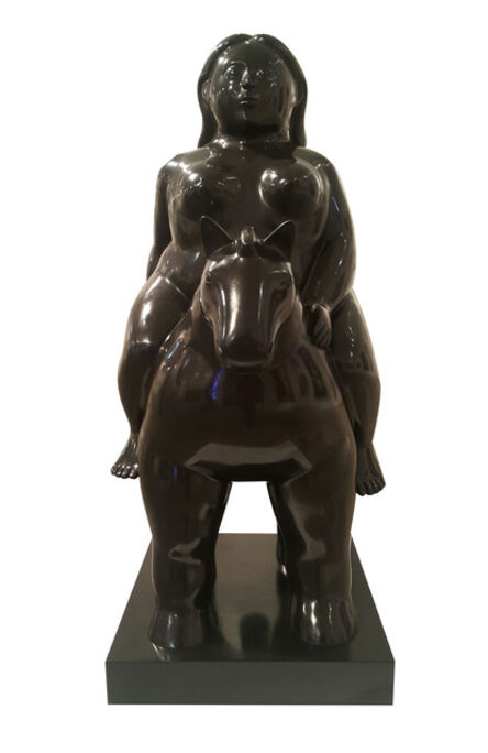 Fernando Botero, 'Donna a Cavallo', 2011