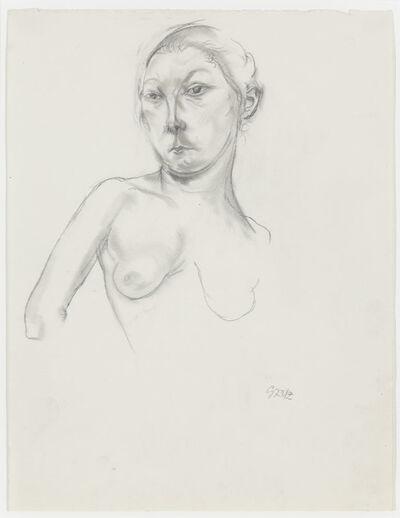 George Grosz, 'Weiblicher Halbakt (Female Nude)', ca. 1922