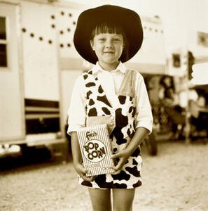 Jules Frazier, 'Popcorn Girl', 2009
