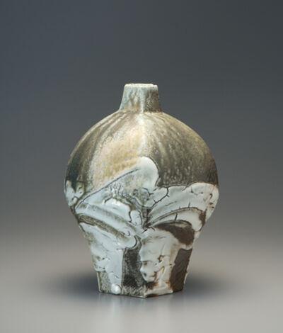 Ken Matsuzaki, 'Vase, yohen shino natural ash glaze', 2010