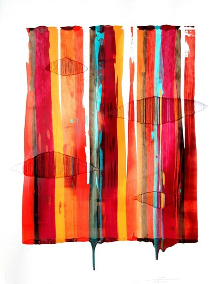 Raul de la Torre, 'FILS I COLORS 160 (framed)', 2013