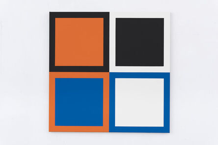 Steven Aalders, 'Act (Orange, Blue)', 2015