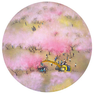 Zhou Jinhua 周金华, 'Shangri-La 世外桃源', 2017