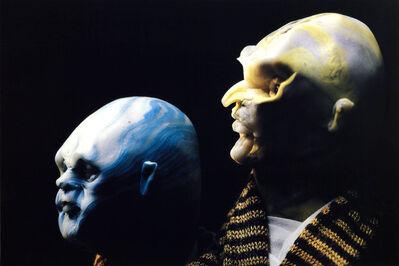 Thomas Schütte, 'United Enemies: A Play in ten Scenes (blue/yellow)', 1994