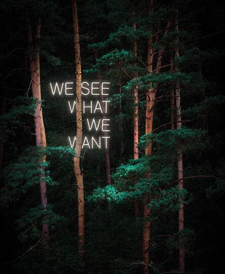 Tom Fabia, 'We See What We Want', 2020