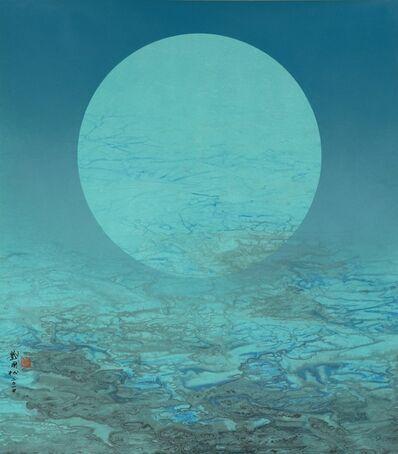Liu Kuo-sung 刘国松, 'Unhurried Moonlight 月色何悠悠 ', 2014