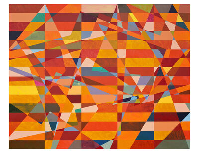 Mark Emerson, 'Orange For Kathy', 2013