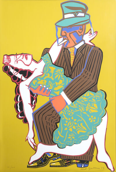 Red Grooms, 'Mango Tango', 1973