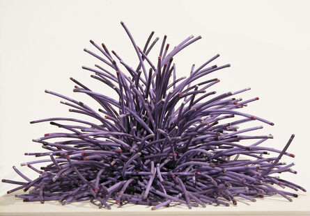 Bean Finneran, 'Bean Finneran Purple Curves with Colored Tips', 21st Century