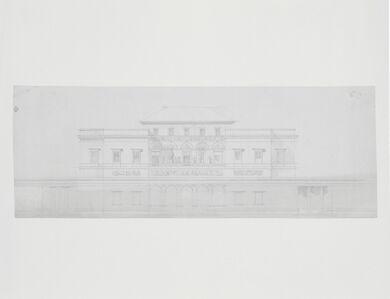 Antonio Asprucci, '[Design for the main facade of the casino]', 1775-1820