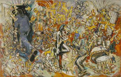 Viola Frey, 'Studio View: Man in Doorway', 1983