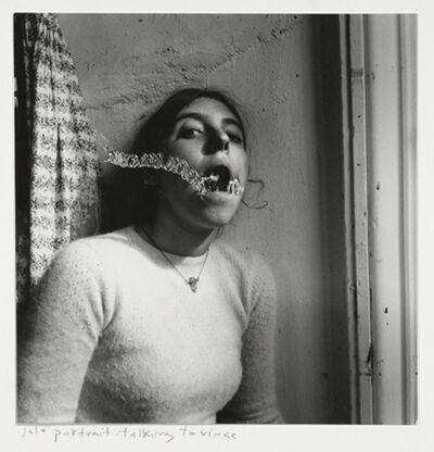 Francesca Woodman, 'Self-portrait talking to Vince, Providence, Rhode Island', 1977