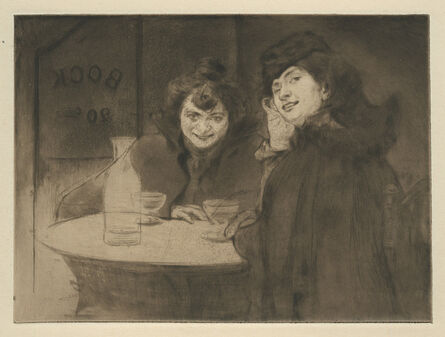 Edgar Chahine, 'Gigolettes', 1899