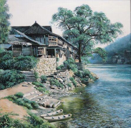 Zhang Shengzan 张胜赞, 'View in west Hunan', 2008