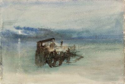 J. M. W. Turner, 'Fishermen on the Lagoon, Moonlight', 1840