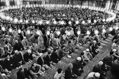 Sebastião Salgado, 'Inside the Blue Mosque (Sultanahmet), Istanbul, Turkey', 1999