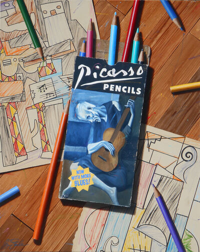 Ben Steele, 'Picasso Pencils', 2020