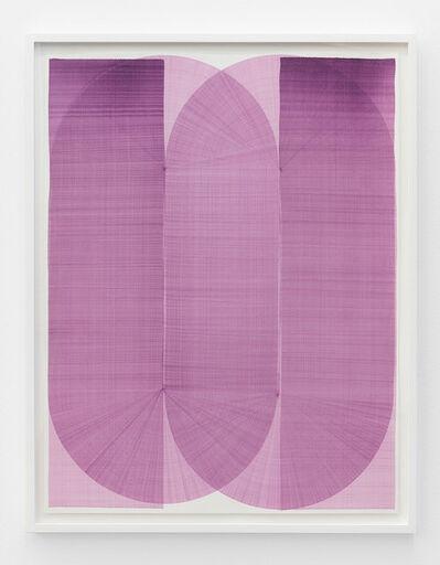 Thomas Trum, 'Two Blue Lines 11', 2020