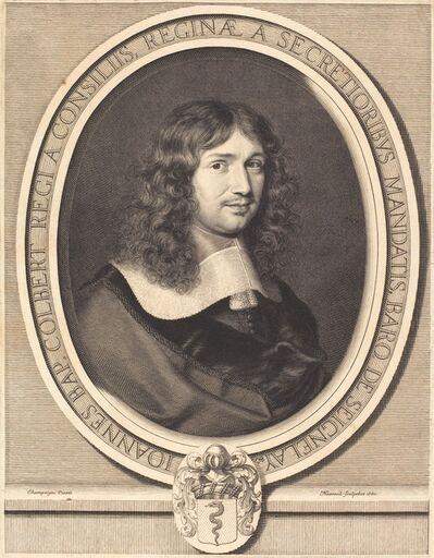 Robert Nanteuil after Philippe de Champaigne, 'Jean-Baptiste Colbert', 1660