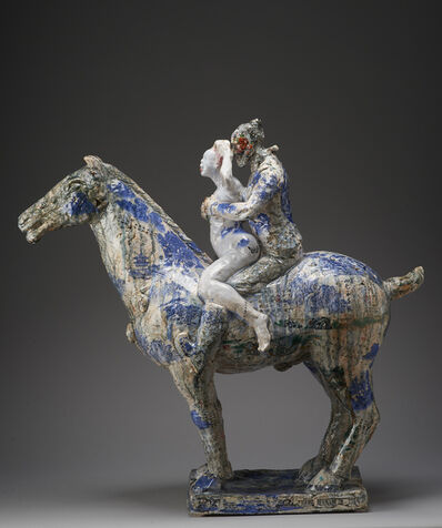 Wanxin Zhang, 'Let Me Teach You How to Ride (Spring)', 2013-2014